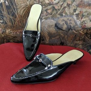 Cole haan patent mules 6B